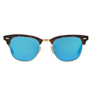 Ray-Ban Clubmaster Mirrored sunglasses Blue lends